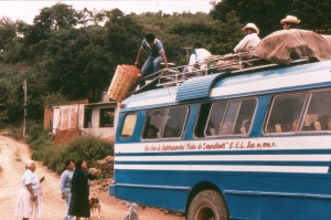 Cajonos bus
