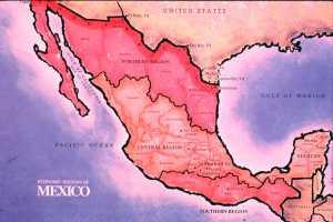 MEXICO REGIONAL MAP