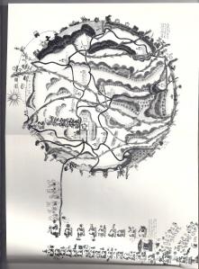 Mapa de Teozacoalco, Oaxaca
